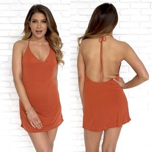 Honey Punch Halter Dress